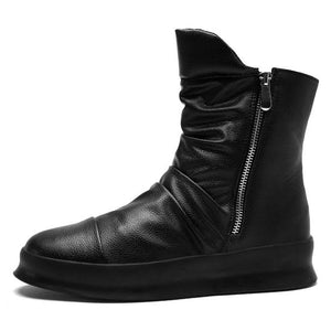 High-top Casual Martin Boots - Abershoes
