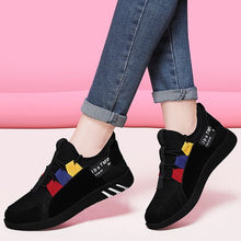 Load image into Gallery viewer, Girls Color Block Trendy Design Sneaker Shoes - Abershoes