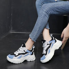 Load image into Gallery viewer, 2019 Summer Mesh Breathable Color Block Sneakers - Abershoes