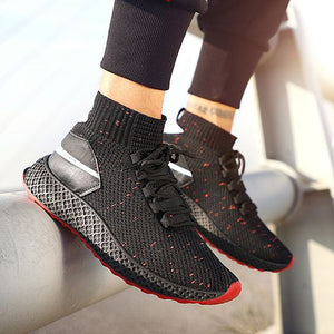 Hot Sale MID Sock Running Shoes - Abershoes