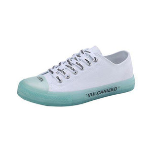 Crystal Canvas Shoes - Abershoes