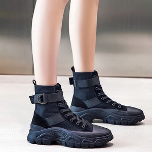 2019 New Arrival Trendy Cool High Top Martin Boots - Abershoes