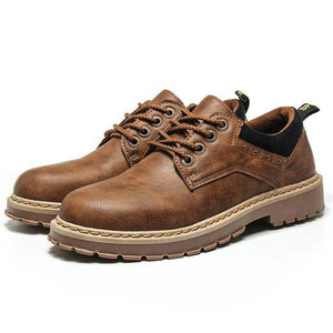 Men's British Retro Trend Boots - Abershoes
