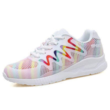 Load image into Gallery viewer, Chic Summer Colorful Breathable Sneakers - Abershoes