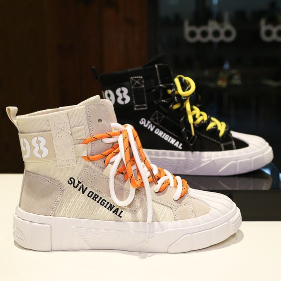 2019 Women's Chic Color Letter Pattern Sneaker Shoes - Abershoes