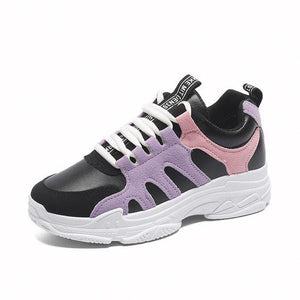 Trendy Sports Breathable Mesh Shoes - Abershoes