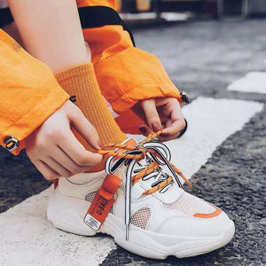 2019 Summer Trends Stylish Mesh Sneaker Shoes - Abershoes