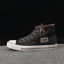 Load image into Gallery viewer, Men's Trendy High Top Denim Canvas Shoes - Abershoes