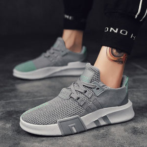 Men's Trendy Mesh Breathable Sneakers - Abershoes
