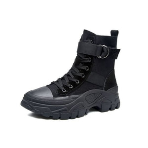 Trendy Style Cool High Top Martin Boots - Abershoes