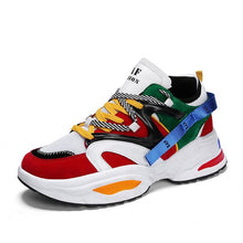 Load image into Gallery viewer, Trendy Color Design Dad Sneaker Shoes - Abershoes