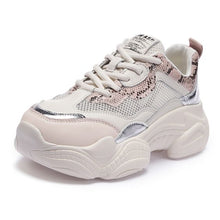 Load image into Gallery viewer, Trendy Summer Breathable Mesh Dad Sneaker Shoes - Abershoes