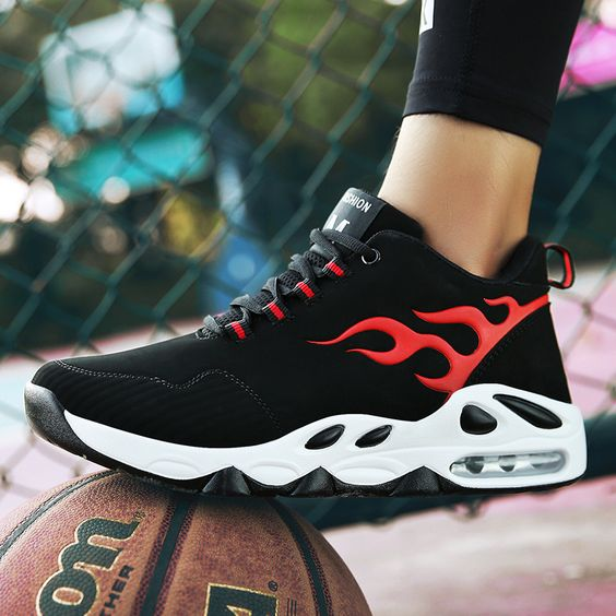 Men's Hot Air Basketball Shoes - Abershoes