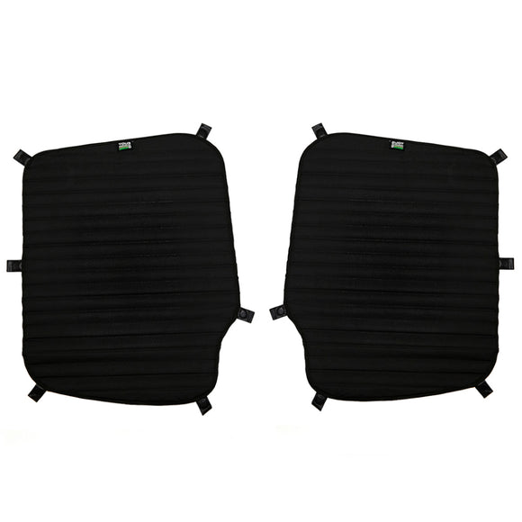 Bunker Rear Door Cover Set for Mercedes-Benz Sprinter 2019+ (Magnetic Mount)