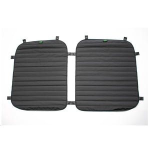 Transit Van Window Cover Set for Rear Windows of  Mid and High Roof Transit Van by TOURIG - exterior view