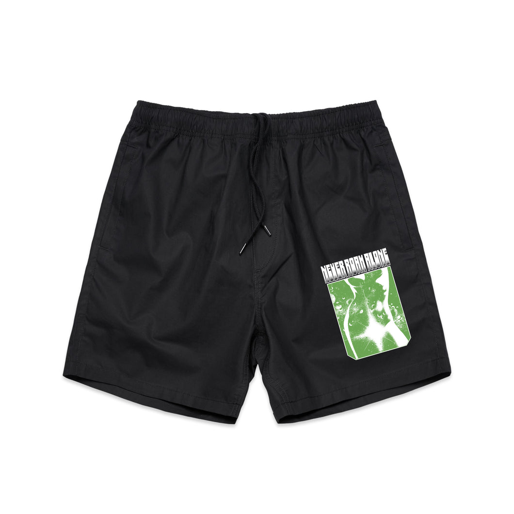 Miss Universe Beach Shorts (BLACK)