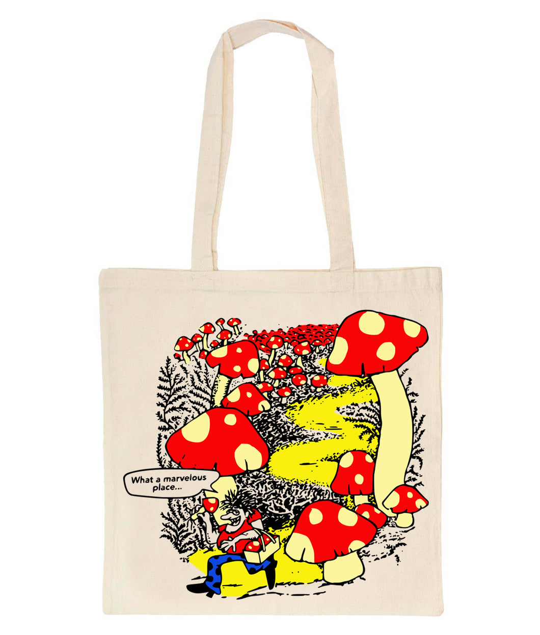 Marvelous Tote Bag (NATURAL)