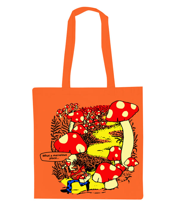 Marvelous Tote Bag (ORANGE)