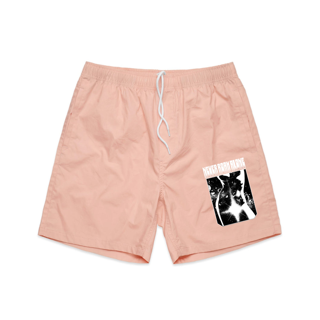 Miss Universe Beach Shorts (PALE PINK)