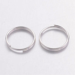 Pack of 200 Iron Split Rings, 10 x 1.4mm