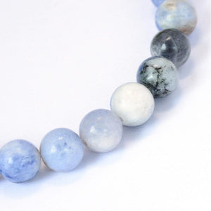Strand Of 60+ Blue Sodalite 6mm Plain Round Beads