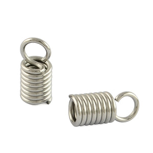 304 Stainless Steel Terminators Coil Cord Ends