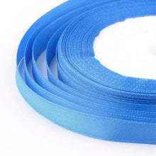 Load image into Gallery viewer, 1 x Royal Blue Satin Ribbon 20 Metre x 7mm