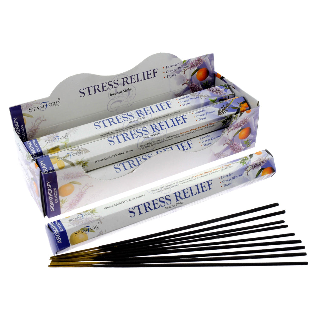 Incense Sticks Stamford Hexagonal Premium Incense 20 Sticks - Stress Relief