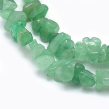 Load image into Gallery viewer, Long Strand Of 240+ Green Aventurine 5-8mm Chip Beads