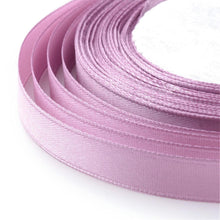 Load image into Gallery viewer, 1 x Plum Satin Ribbon 20 Metre x 7mm