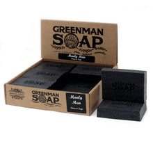 Load image into Gallery viewer, Greenman Soap, SLS and parabens free, handcrafted in England