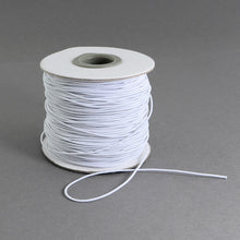 Load image into Gallery viewer, 1 x White Elastic Cord 10 Metre x 1mm Thong Cord