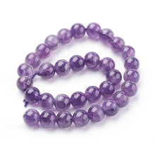 Load image into Gallery viewer, Natural Amethyst 6mm Loose Beads Round