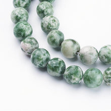 Load image into Gallery viewer, Strand 6mm Green Spot Jasper