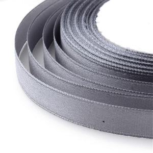 1 x Slate Gray Satin Ribbon 20 Metre x 7mm