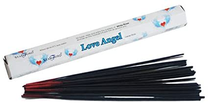Incense Sticks Stamford Hexagonal Premium Incense 20 Sticks - Love Angel