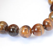 Load image into Gallery viewer, 46pcs Natural Gemstone Tiger Eye Stone Beads Round Loose Beads for DIY Jewelry Making Findings 8 mm