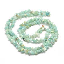 Load image into Gallery viewer, Long Strand Of 240+ Natural Amazonite 5-8mm Chip Beads