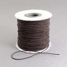 Load image into Gallery viewer, 1 x Brown Elastic Cord 10 Metre x 1mm Thong Cord