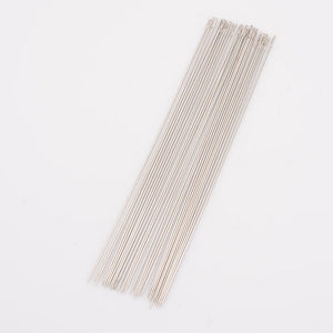 Pack of 10 Steel Beading Needles - 150 x 0.8mm