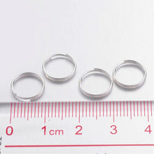 Load image into Gallery viewer, Pack of 200 Iron Split Rings, 10 x 1.4mm