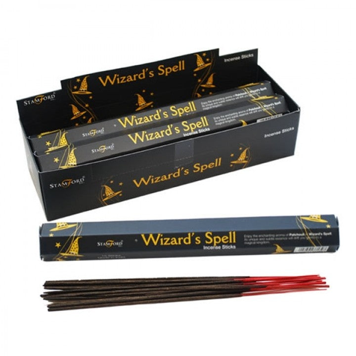 Stamford Mythical Hex Incense Sticks - 1 Box - Wizard's Spell