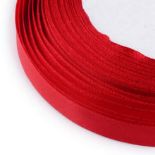 Load image into Gallery viewer, 1 x Red Satin Ribbon 20 Metre x 25mm