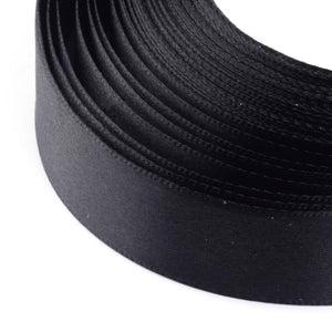 1 x Black Satin Ribbon 20 Metre x 25mm