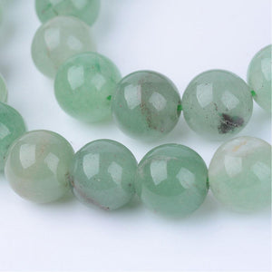 "16"" Strand Green Aventurine 6mm Round Beads"