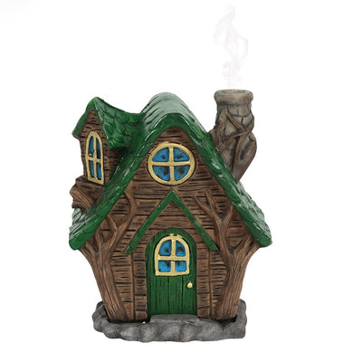 Lisa Parker Woody Cottage Incense Cone Burner