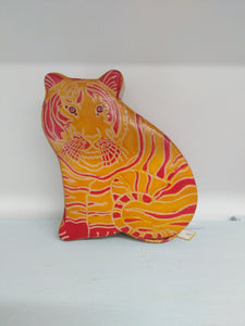 Leather Money Box - Tiger