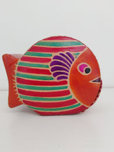 Load image into Gallery viewer, Leather Money Box - Fish