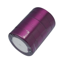 Load image into Gallery viewer, 1 x Purple Satin Ribbon 20 Metre x 25mm