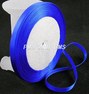 1 x Royal Blue Satin Ribbon 20 Metre x 16mm